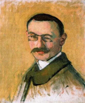 Albert Marquet. Self-portrait