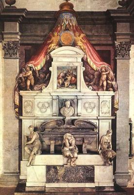 Giorgio Vasari. Monument To Michelangelo