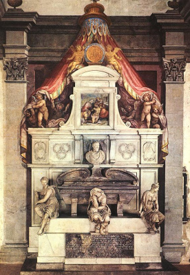 Джорджо Вазари. Памятник Микеланджело