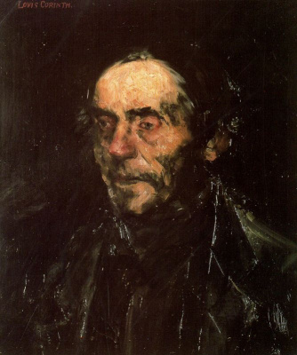 Lovis Corinto. The old man