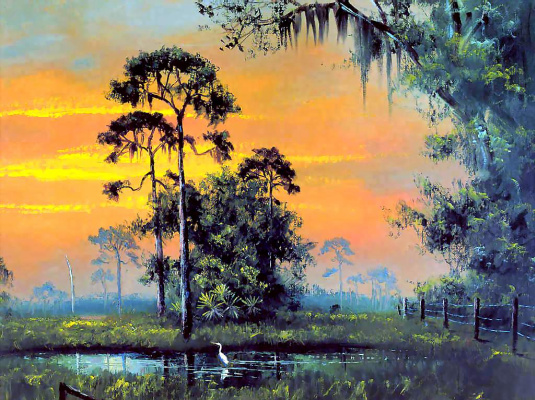 Рой Маклендон. Тропический пейзаж 2