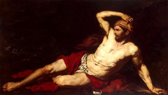 Giovanni Battista Langgetti. Samson