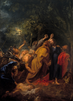 Anthony van Dyck. The Kiss Of Judas