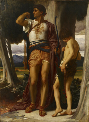 Frederic Leighton. Jonathan and David