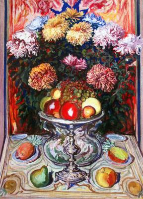 Алексей (Олекса) Новаковский. Chrysanthemums