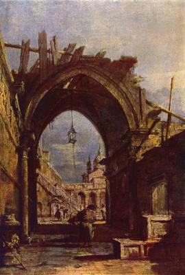 Франческо Гварди. Венецианская ведута