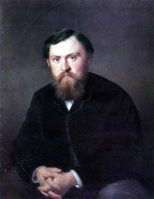 Vasily Grigorievich Perov. Portrait Of Alexander Borisovsky