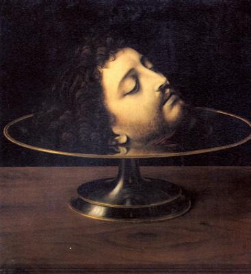 Андреа Соларио. Голова Святого Иоанна Крестителя