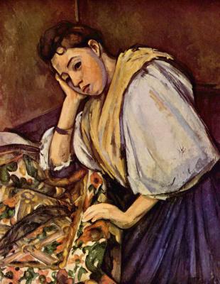 Paul Cezanne. The young Italian