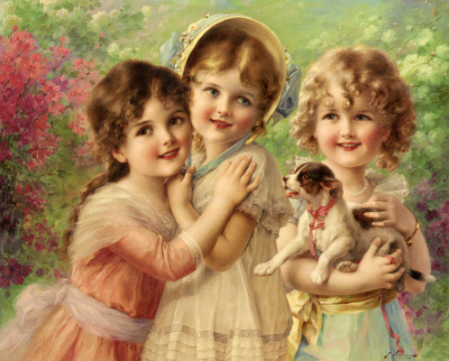 Emile Vernon. Best friends
