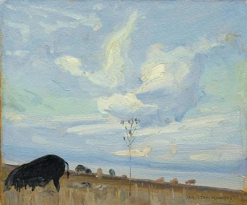 Jan Stanislavsky. Landscape