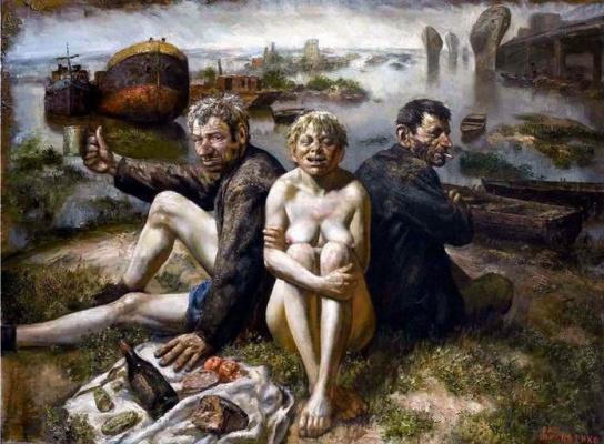 Vasily Vladimirovich Shulzhenko. Breakfast on the grass