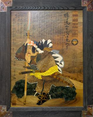 "Constantine Krivoshein. The next edition of Dingeman Takafusa (from the ""47 loyal samurai"")"