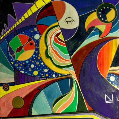 Anastasiya Demidova. Infinity around