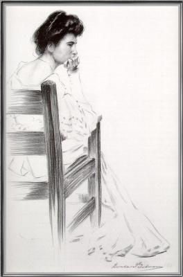 Берта Гутман. Голдман в кресле