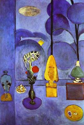 Henri Matisse. Blue window