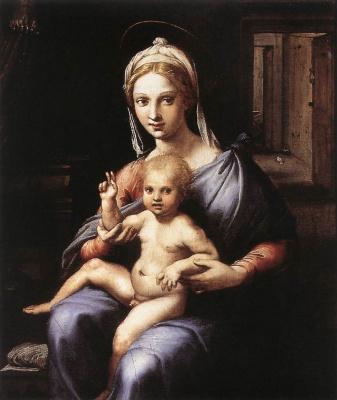 Джулио Романо. Мадонна с младенцем