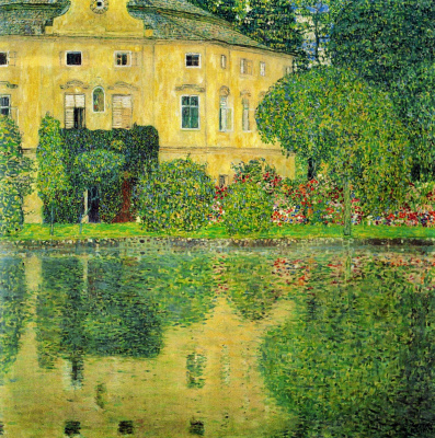 Gustav Klimt. Castle Kammer on lake Attersee IV