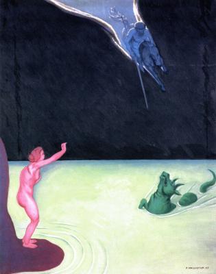 Felix Vallotton. Andromeda and Perseus