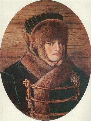 Napoleon I in winter clothes
