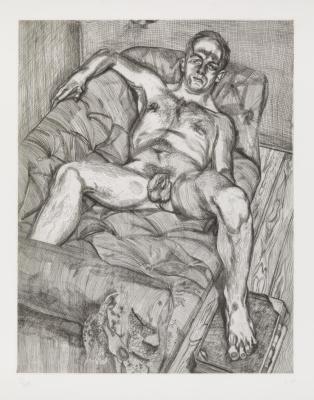 Lucien Freud. Plot 19