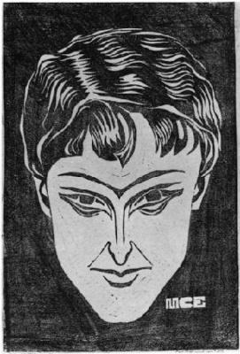 Maurits Cornelis Escher. Portrait