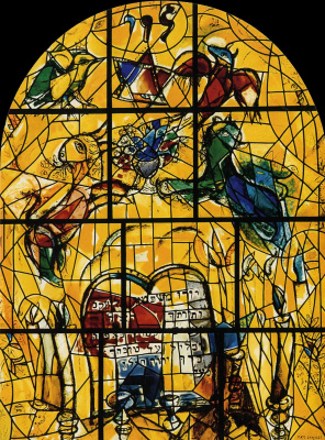 Marc Chagall. The Tribe Of Levi, Twelve Tribes Of Israel