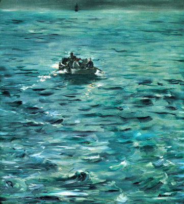 Edouard Manet. The Escape Of Rochefort