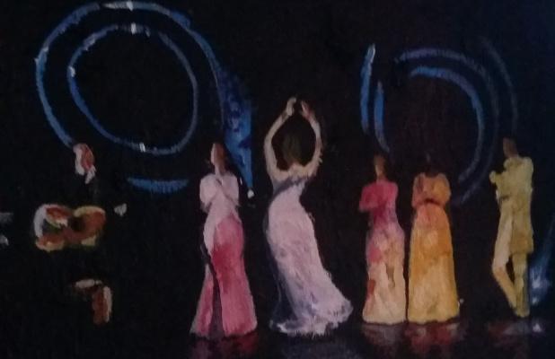 Marianna Borisovna Soina. Flamenco