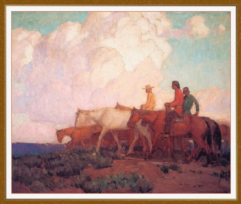 Эдгар Пейн. Вблизи каньона де Шелли