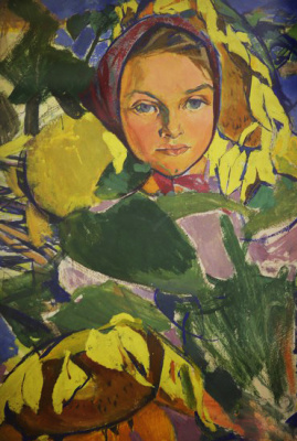 Алла Александровна Горская. Sunflowers