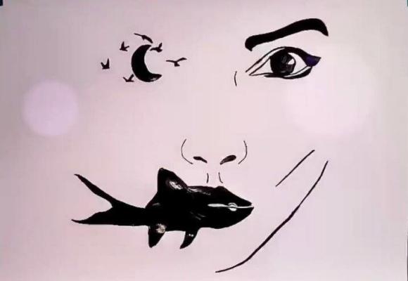 Unknown artist. Strange