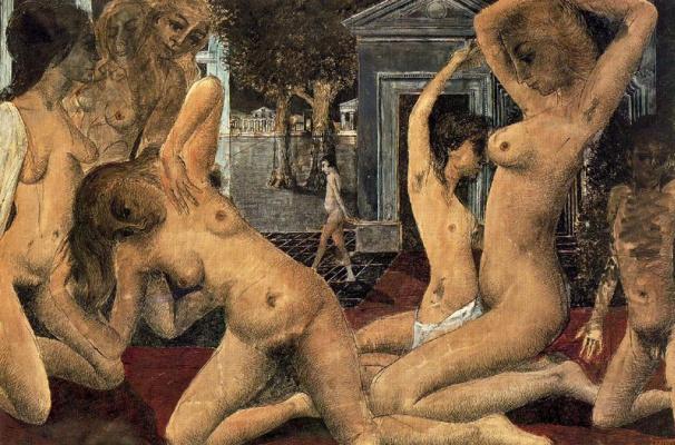 Paul Delvo. Naked girls
