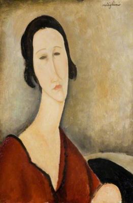 Amedeo Modigliani. Portrait of Madame Z