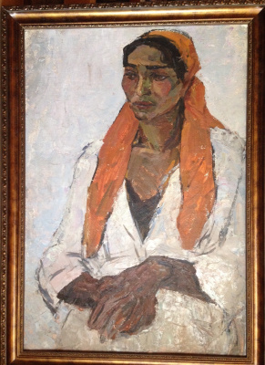 "Boris M. Kuznetsov. ""Portrait of a Gypsy"""