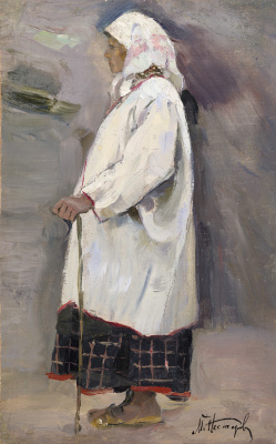 Mikhail Vasilyevich Nesterov. The woman