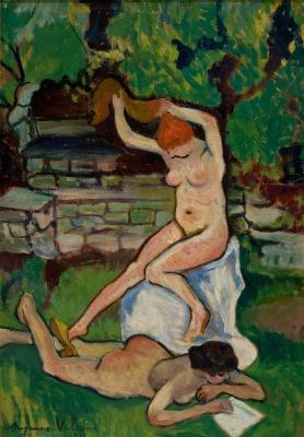 Suzanne Valadon. Обнаженные. 1919