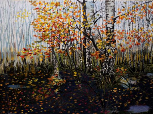 Vladimir Adamovich Ropot. Leaf fall