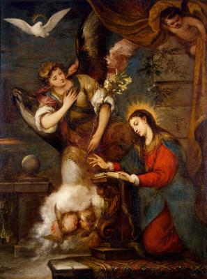Jose de Antolinez. The Annunciation