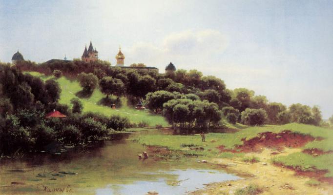 Lev Lvovich Kamenev. The Savino-Storozhevsky monastery near Zvenigorod