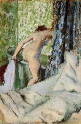 Эдгар Дега. Утренняя ванна