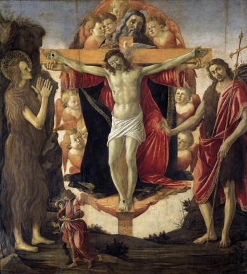 Sandro Botticelli. Holy Trinity