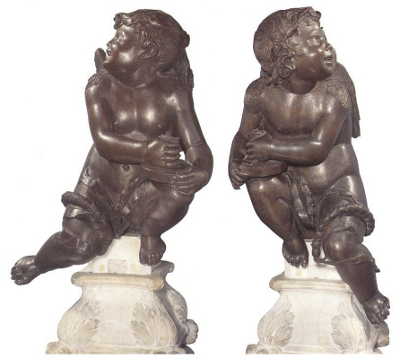 Скульптор Неизвестный. Ангелы