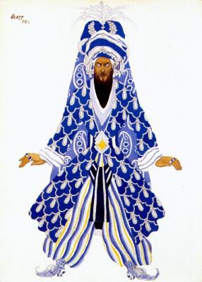 Lev Samoilovich Bakst (Leon Bakst). Vengeful Sultan
