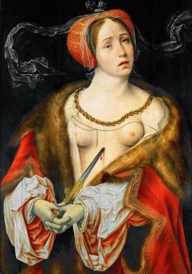 Йос ван Клеве. Лукреция. 1520-1525