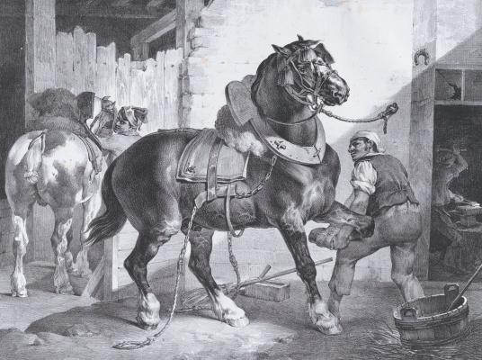 Théodore Géricault. French blacksmith