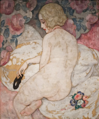 Gerda Wegener. Beautiful mask