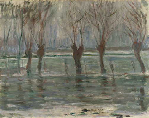 Claude Monet. Flood