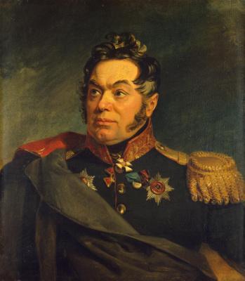 George Dow. Portrait of Vasily Danilovich Laptev
