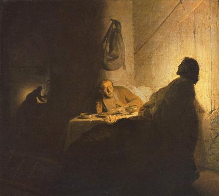 Рембрандт Харменс ван Рейн. Ужин в Эммаусе